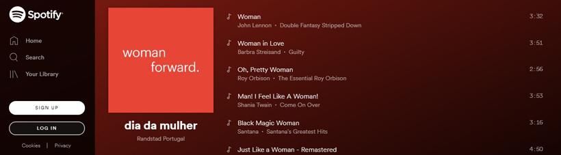 Randstad celebra o feminino com playlist inspiradora