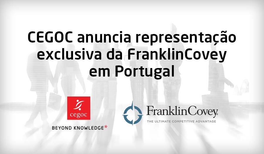 CEGOC com representação exclusiva da FranklinCovey em Portugal